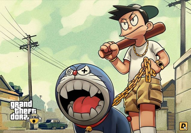 grand-theft-auto-anime-doraemon-7