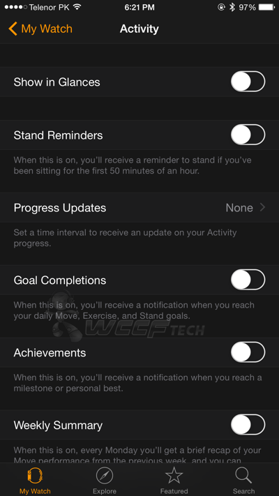 How To Disable Apple Watch Activity Notifications Completely