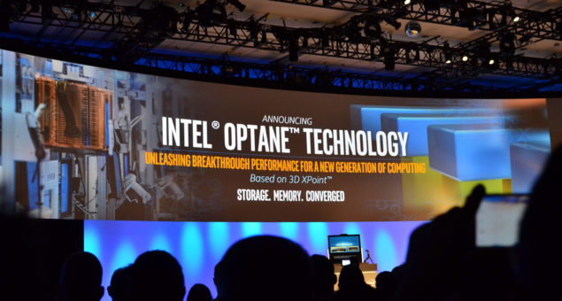 Intel Optane Technology Feature - IDF15