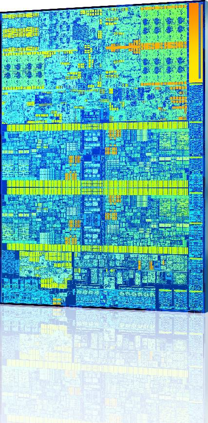 Intel Skylake Die Shot