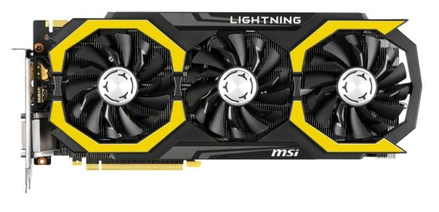 MSI GeForce GTX 980 TI Lightning_Top