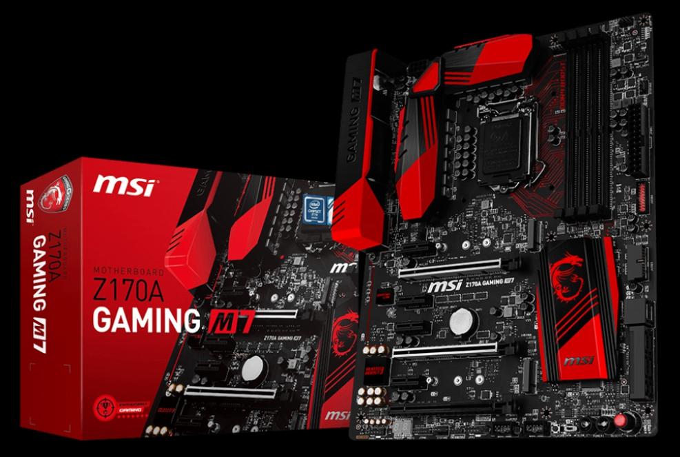 MSI Z170A GAMING M7 LGA 1151 Intel Z170 HDMI SATA 6Gb//s USB 3.1 ATX Intel