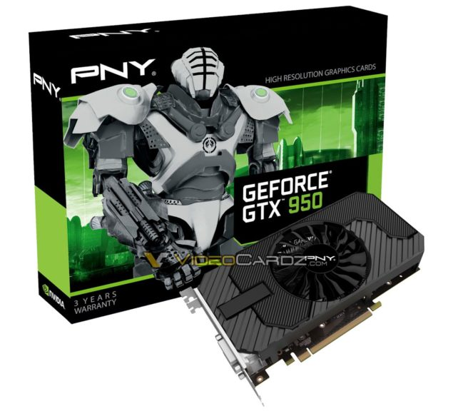 PNY GeForce GTX 950 2 GB