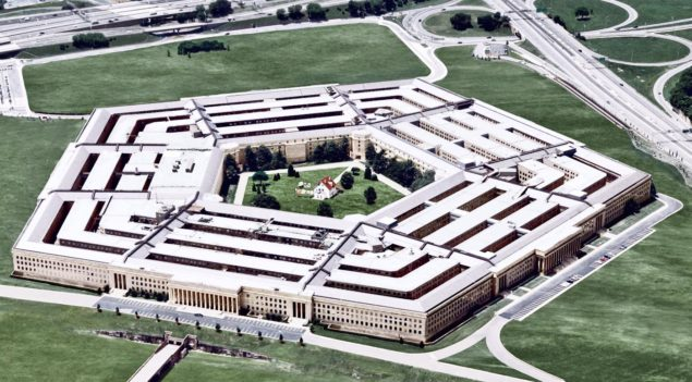 Pentagon security russia