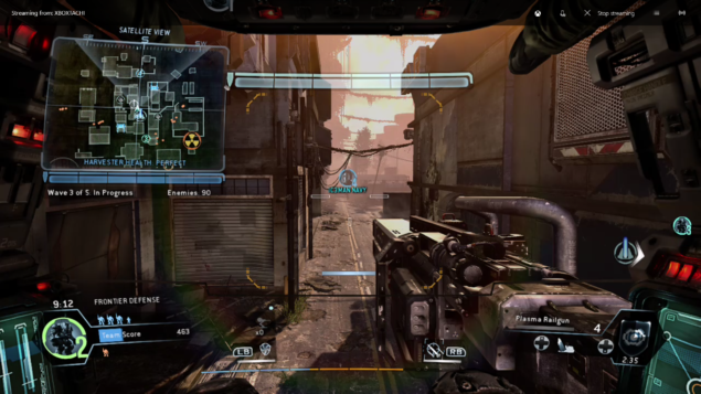 Windows 10 Streaming Titanfall
