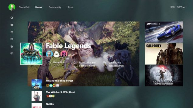 how to access xbox one x firmware update