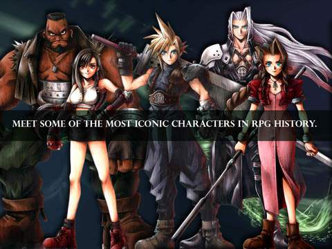 final fantasy vii for iPhone and iPad