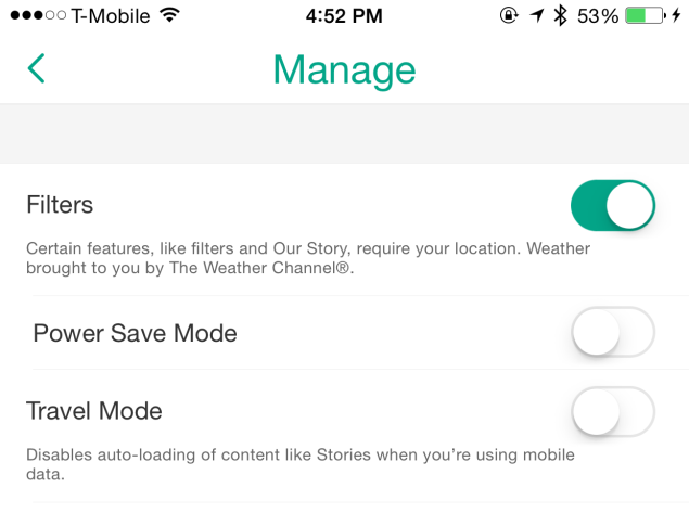 How To Save Cellular Data, Battery Life While Using Snapchat