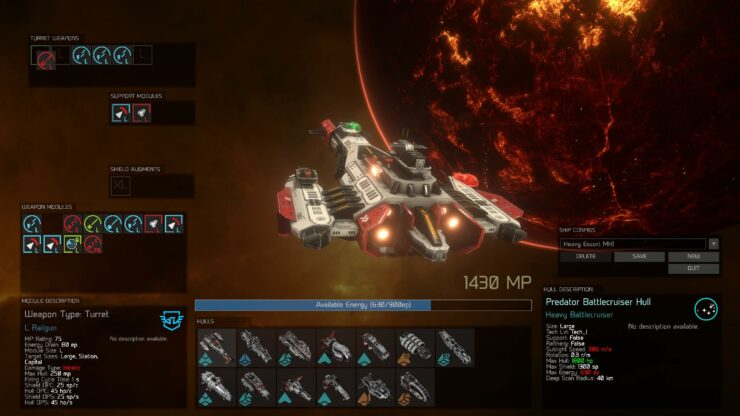 Fantastic UI Great New Omega Ships Show Shallow Space Development - Space track
