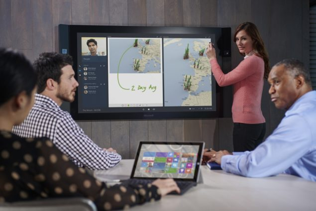 Surface Hub Will Ship Out From Jan 1, 2016; Can Be Yours Starting From $6,999