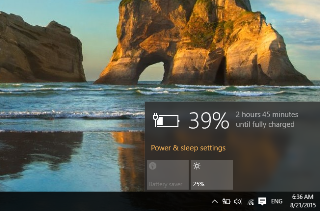 windows 10 battery features