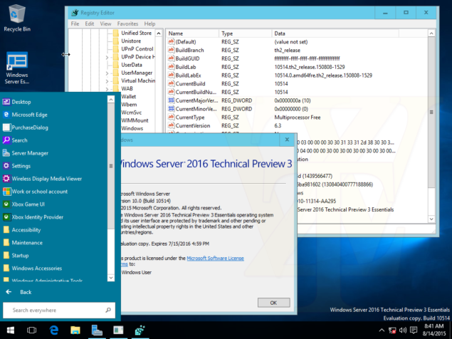 windows sever 2016