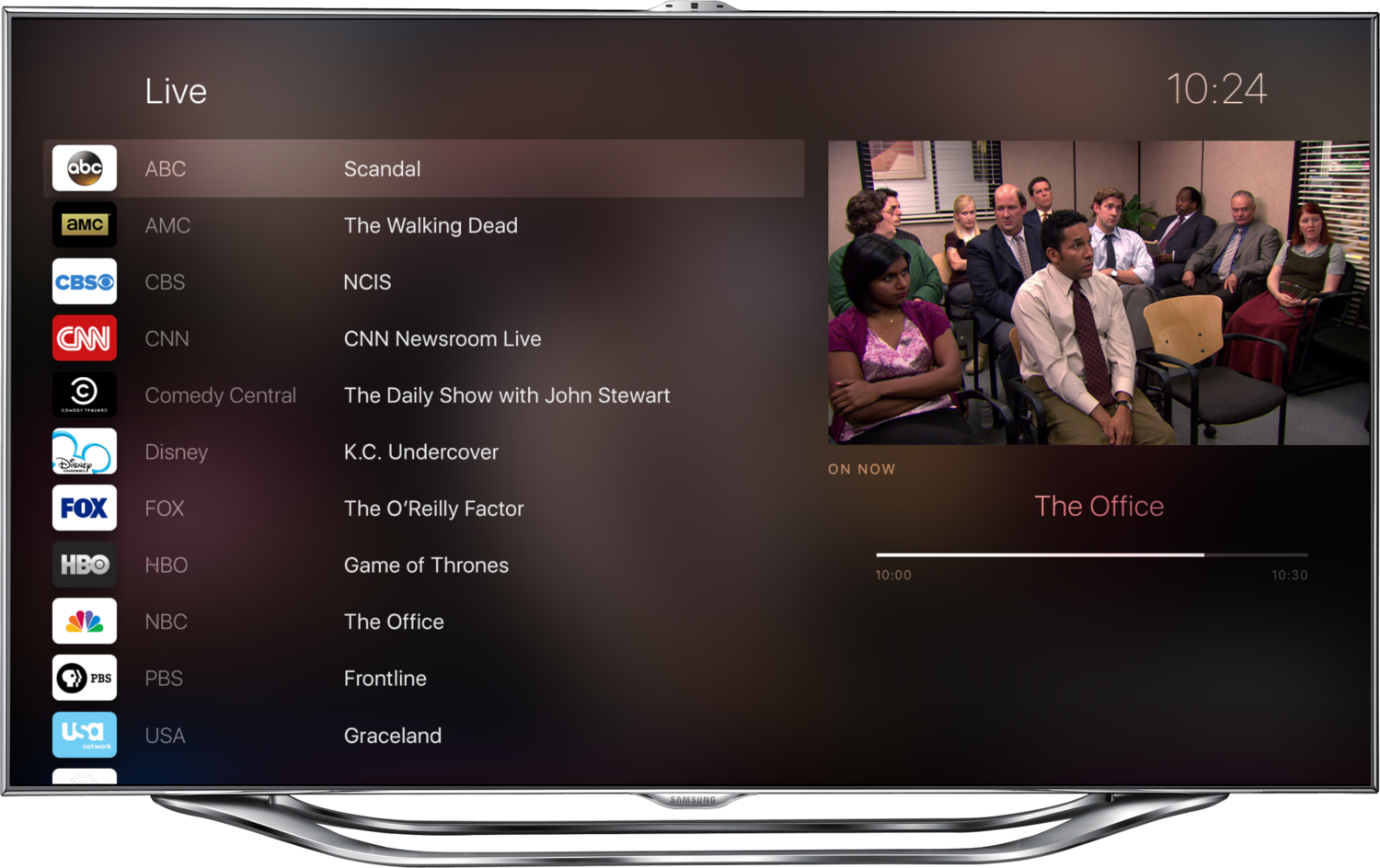 Apple TV 4 UI With Third-Party Apps, Siri, New UI Conceptualized