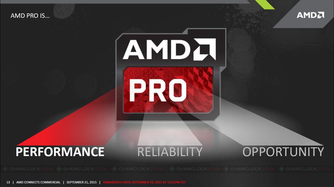 AMD Pro A-Series APUs - Slide11