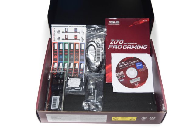 ASUS Z170 Pro Gaming Motherboard_Accessories