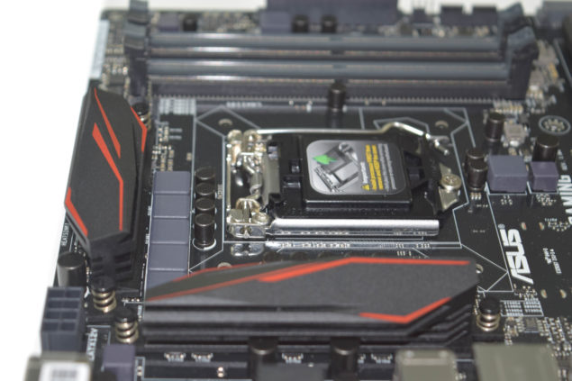 ASUS Z170 Pro Gaming Motherboard_Heatsinks 2