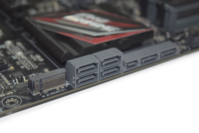 ASUS Z170 Pro Gaming Motherboard_Storage
