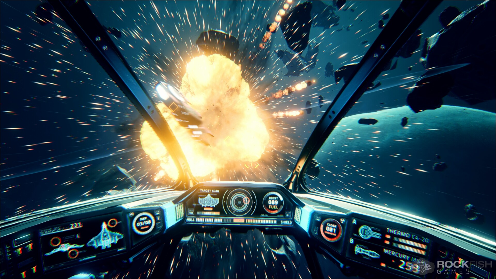 Unreal Engine 4 Space Shooter 'Everspace' 1080p Screenshots