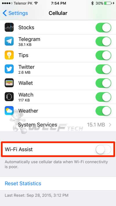 iOS 9 Using Up Too Much Cellular Data? Here's How To Fix The