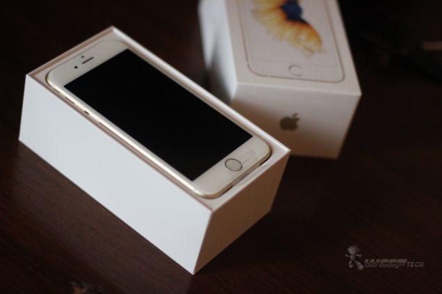 iphone 6 in gold gold iphone 6s unboxed photos 14985