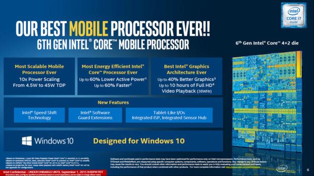 Intel Skylake Processors_Mobility