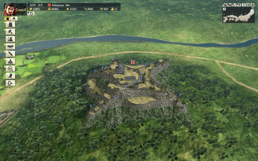 Nobunaga's Ambition 01 - The Castle