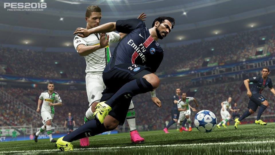 FIFA 16 vs  Pro Evolution Soccer 2016 Graphics Comparison