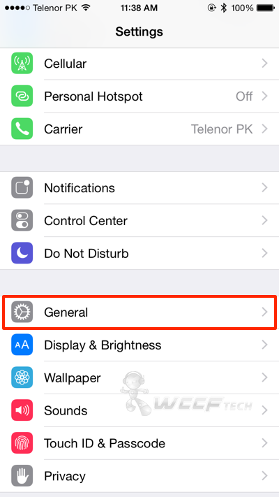 what are carrier settings on an iphone how to check for iphone carrier settings update 20530