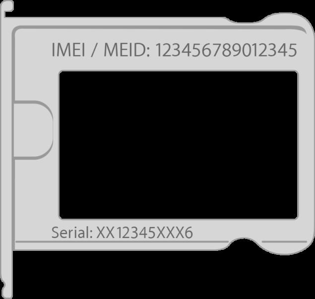 SIM tray