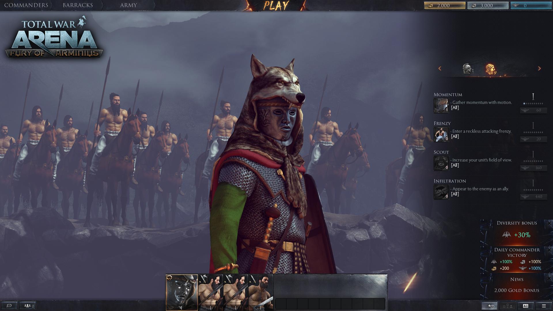 Total War Arena Beta