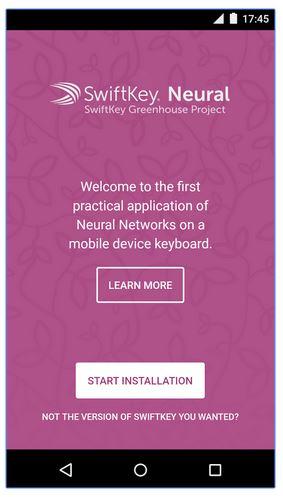 SwiftKey Testing To Make A Smart Keyboard With Neural Network language