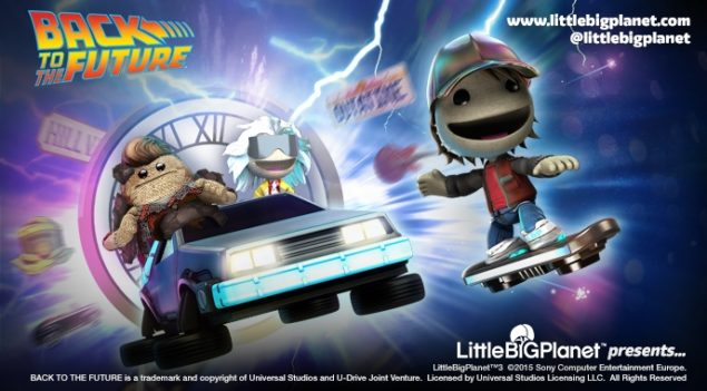 LittleBigPlanet 3 Back to the Future