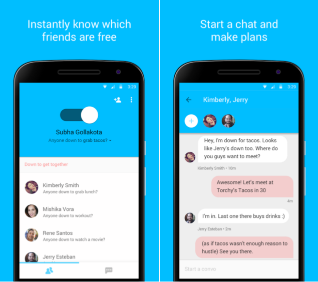 Google's Who's Down App Let's You Find Friends On Both Android And iOS
