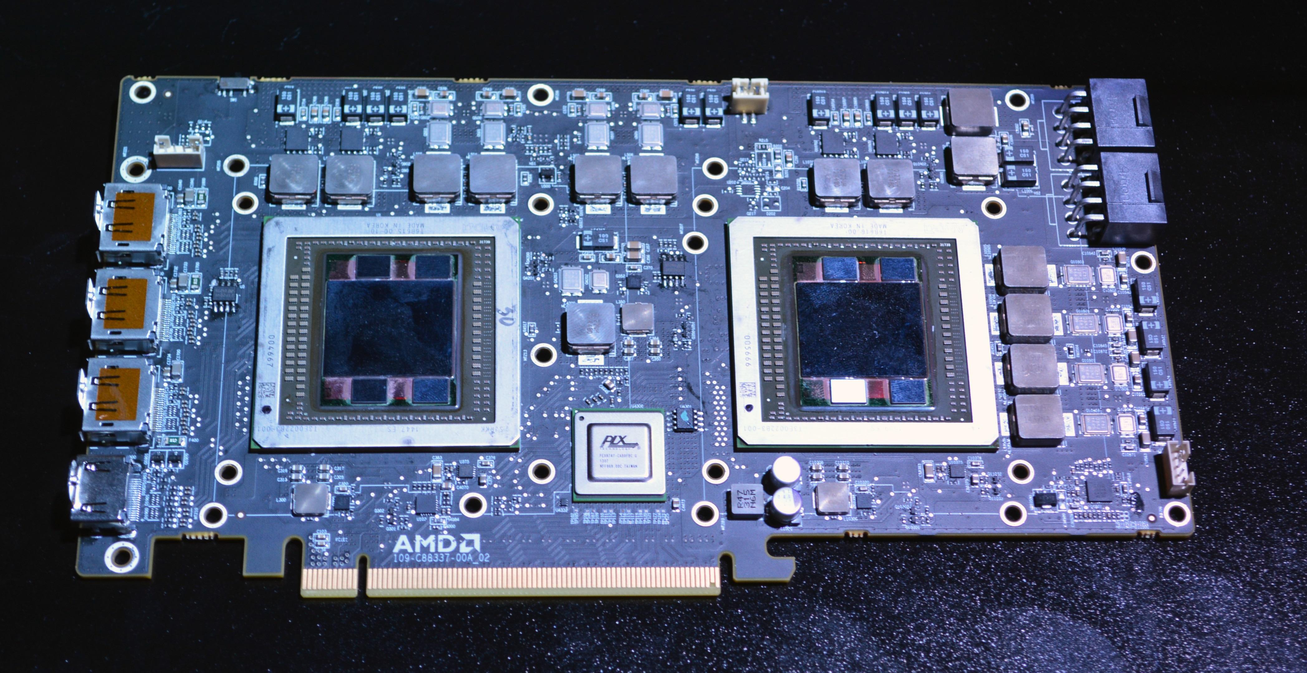 AMD Dual Fiji XT R9 Fury X2 Gemini