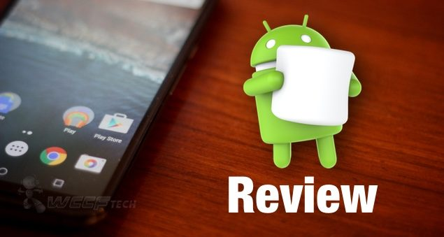Android Marshmallow review main