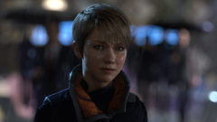 Detroit Become Human PS4 Pro native 4k