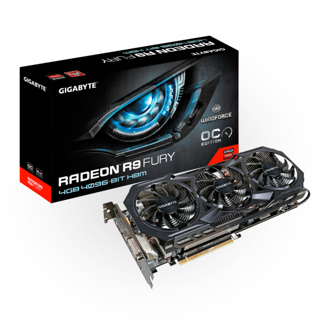 Gigabyte Radeon R9 Fury WindForce 3X_Box