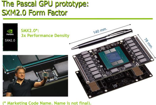 NVIDIA Pascal GPU Prototype