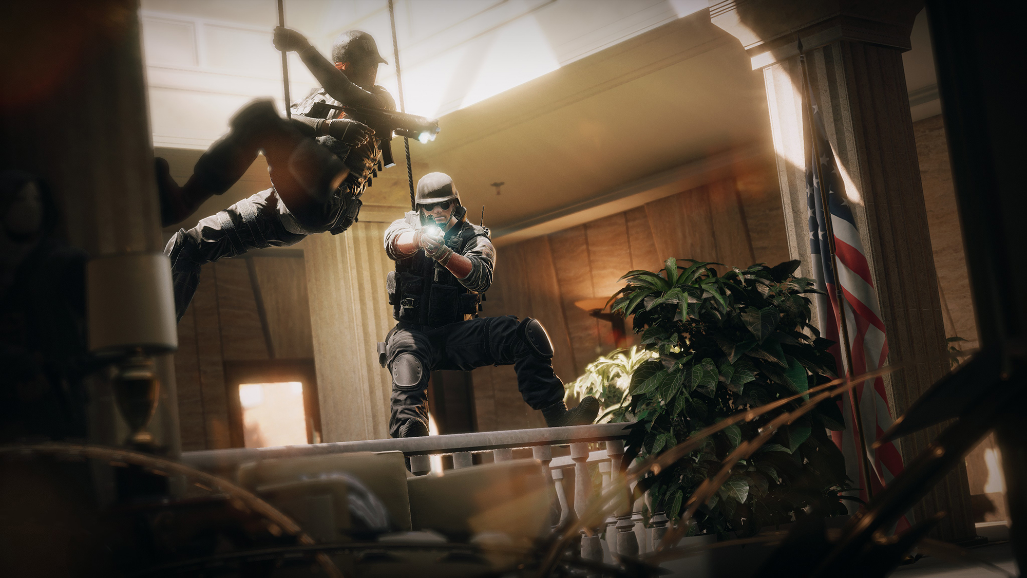 Rainbow six siege update 1 1 released hit registration for Fond ecran r6