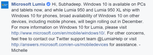 windows 10 mobile release