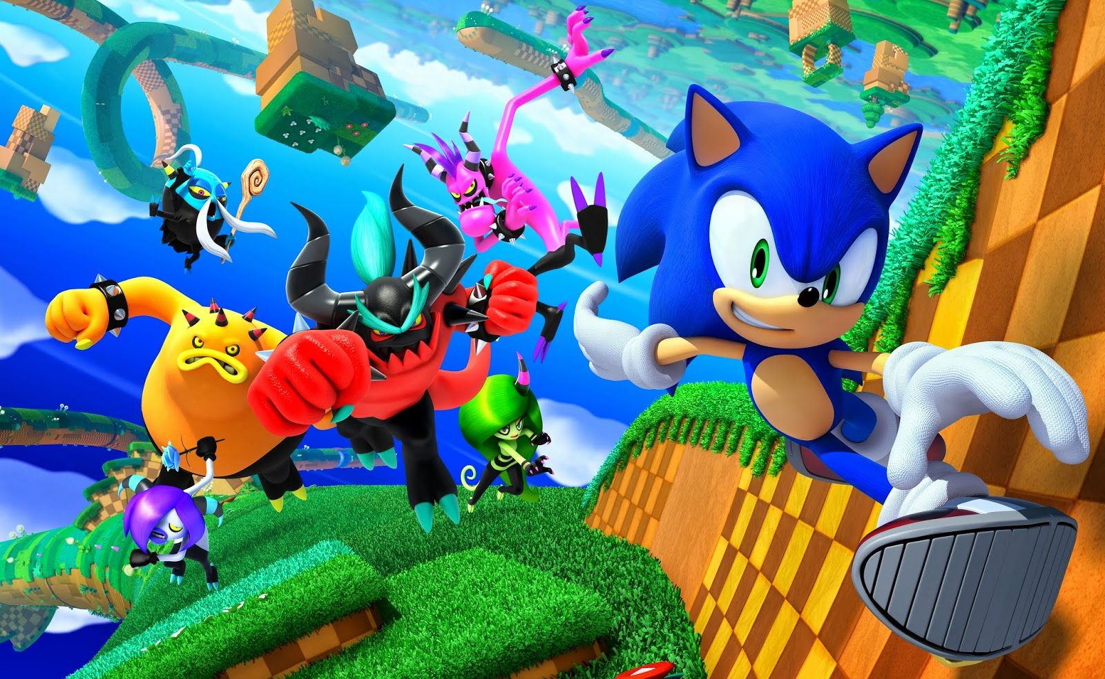 Sonic Lost World Making Its Way To Pc In November With