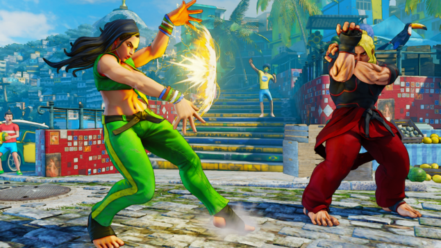 Street Fighter V Laura (2)