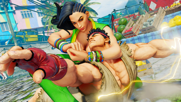 Street Fighter V Laura (3)