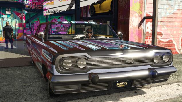 GTA Online Lowrider