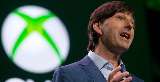 Mattrick doing his destructive work at E3 2013