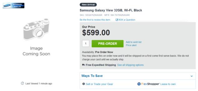 galaxy view listing