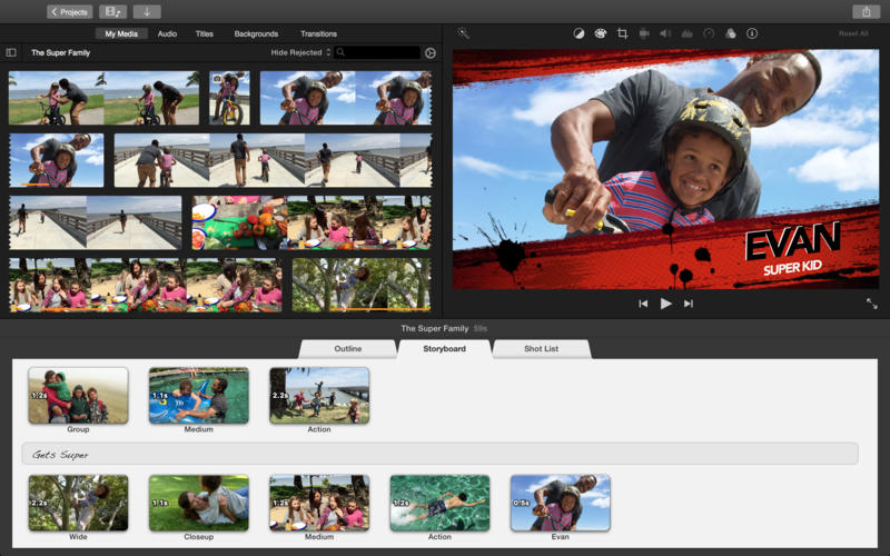 iMovie For Mac Has Been Updated With Support For 4K Video Editing