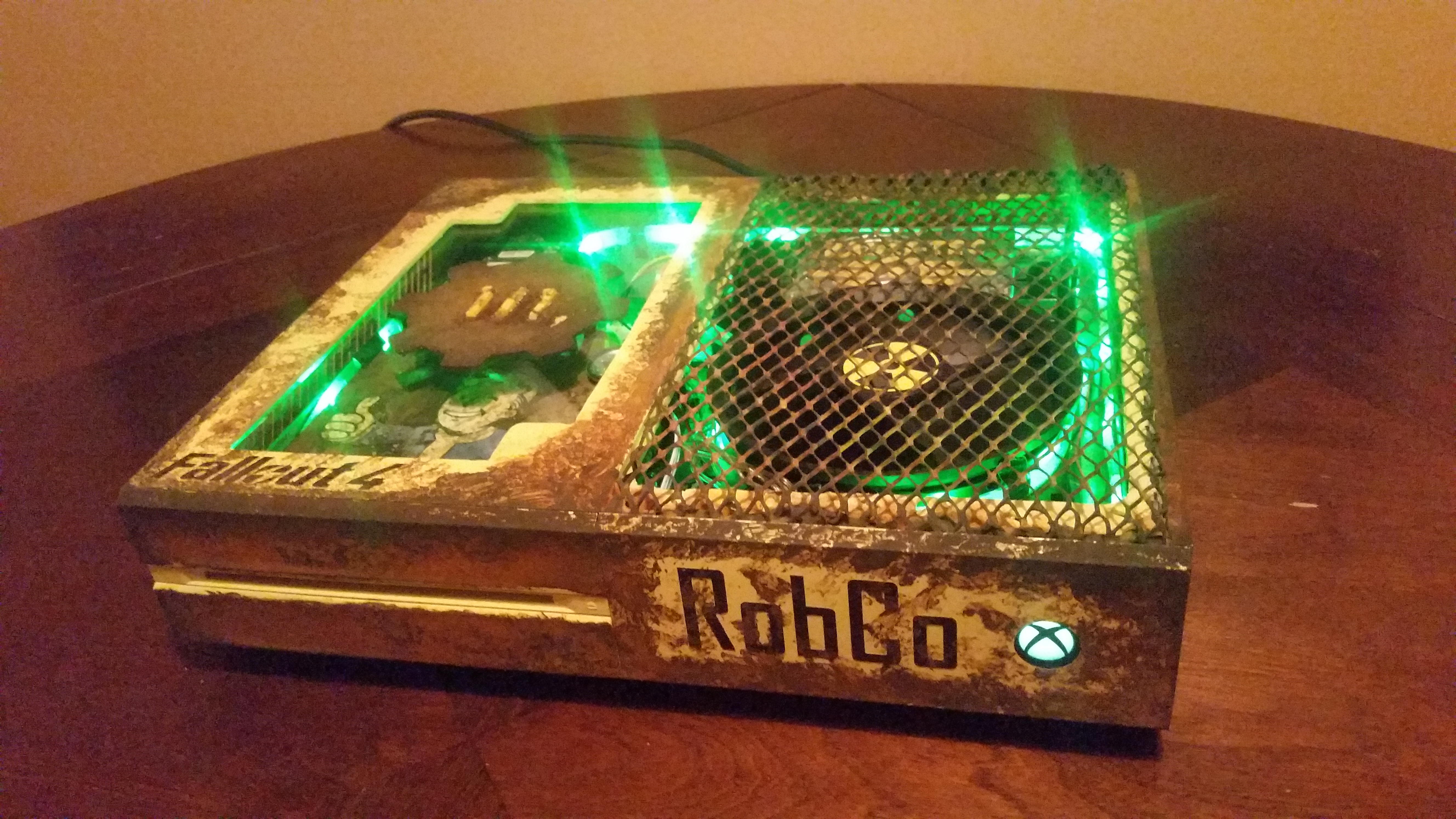 fallout 4 custom modded xbox one looks stellar. Black Bedroom Furniture Sets. Home Design Ideas