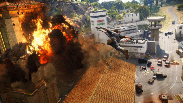 Just Cause 3 - Explosion