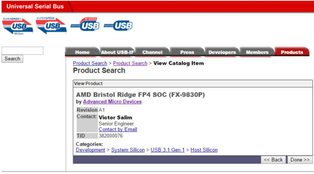 AMD FX-9830P Bristol Ridge SOC